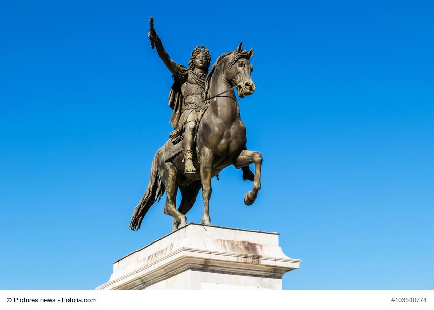 Ludwig XIV. hoch zu Ross