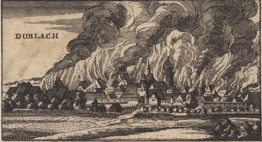 Verwüstung der Pfalz Ludwig XIV.